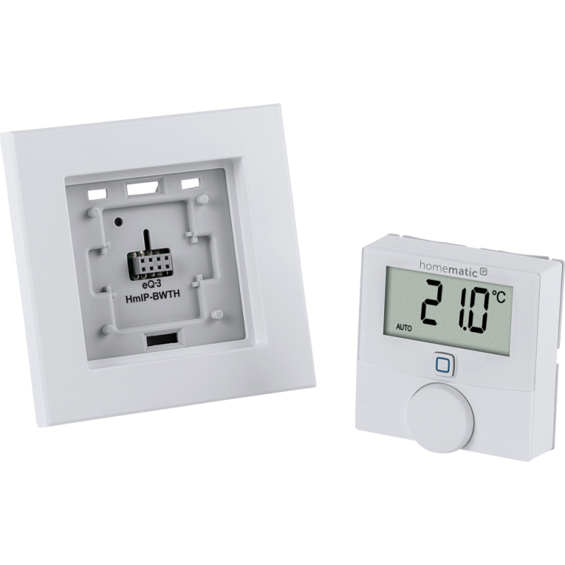 homematic ip wandthermostat mit schaltausgang f r markenschalt. Black Bedroom Furniture Sets. Home Design Ideas