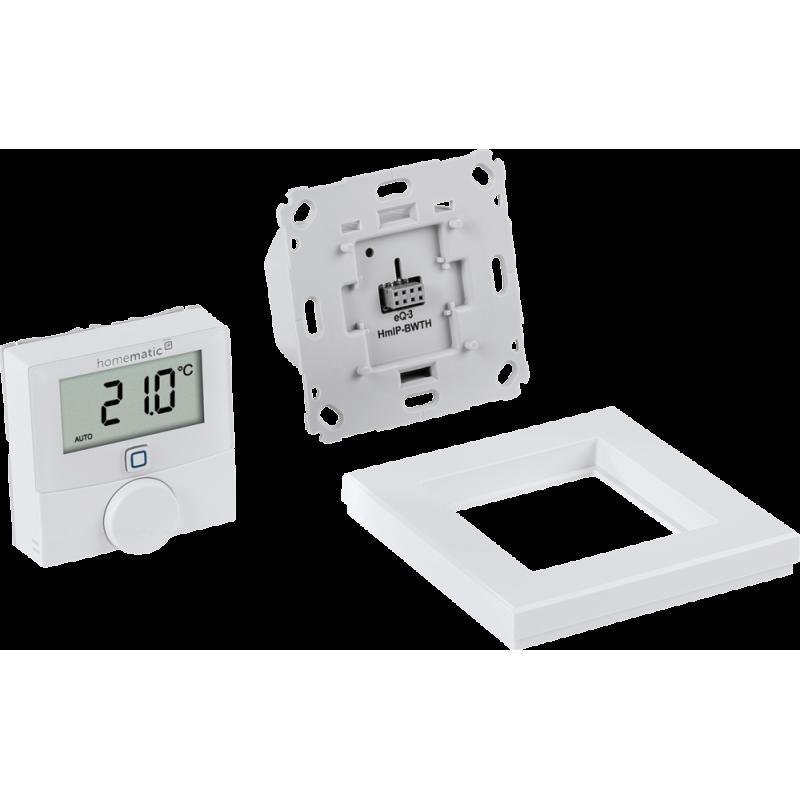 Homematic IP Wandthermostat mit Schaltausgang - für Markenschalt