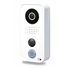 DoorBird IP Video Türstation D101 mit App-Anbindung, weiß