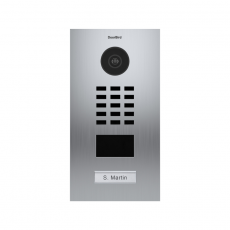 DoorBird IP Video Türstation D2101V, Gebürsteter...