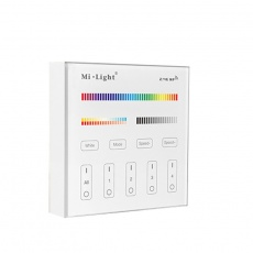 EASY LED 4-Zonen Fenrbedienungs-Panel RGB+RGBW+CCT, Batterie