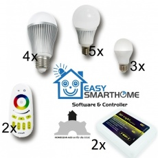 EASY LED Family Set, inkl. Homegear Modul