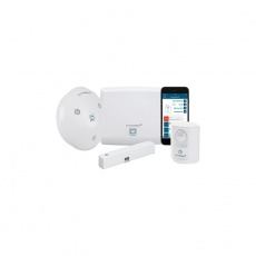 Homematic IP Starter Set Alarm mit Access Point, Alarmsirene, Tür-/Fensterkontakt und Bewegungsmelder