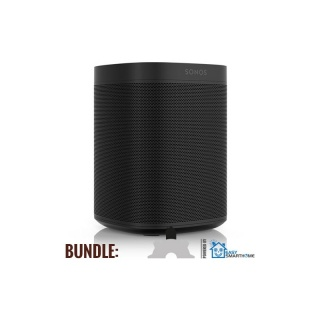 Sonos One Bundle schwarz