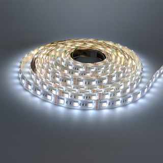 EASY LED Stripe RGB+CCT five in one, IP65, 12V, 12mm, 5m Rolle