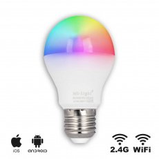 EASY LED Lampe 6W,E27,RGB+CCT