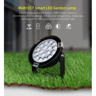EASY LED Gartenstrahler 15W,RGB+CCT, IP65
