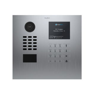 DoorBird IP Video Türstation D21DKH, Unterputz, Display Modul, Keypad Modul