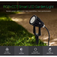 EASY LED Gartenstrahler 6W,RGB+CCT, IP65