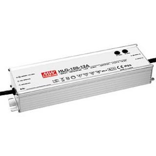 MeanWell LED-Trafo, 150 W, 12 V DC, 12,5 A, IP65