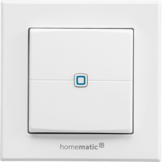 Homematic IP Wandtaster 2-fach