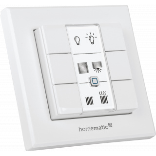 HomeMatic IP Wandtaster 6-fach