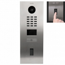 DoorBird IP Video Türstation D2101FV EKEY Gebürsteter...