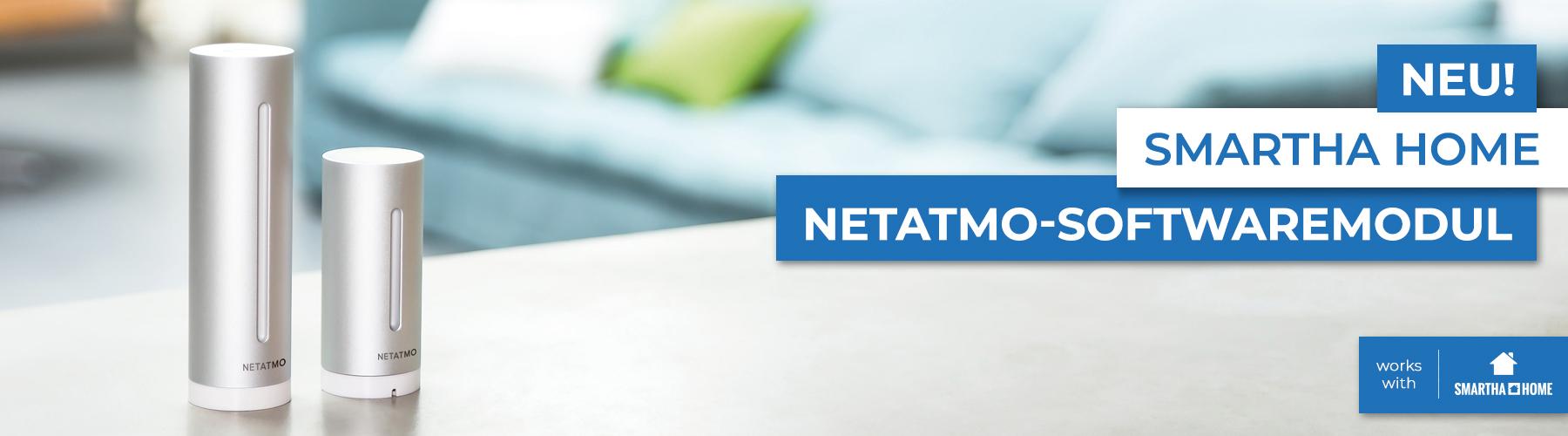 smartha home Softwaremodul Netatmo